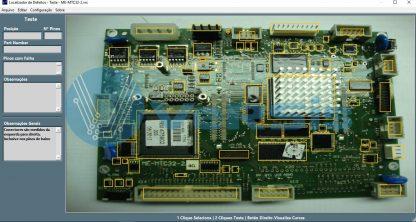 Placa de controle painel HIGHPULSE450 Merkle